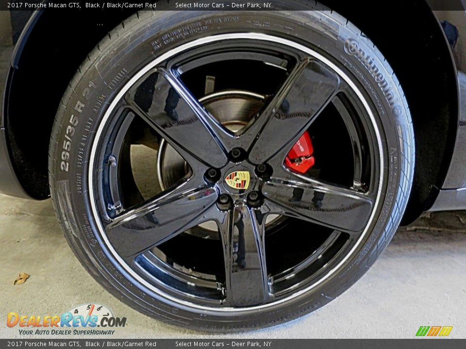 2017 Porsche Macan GTS Black / Black/Garnet Red Photo #13