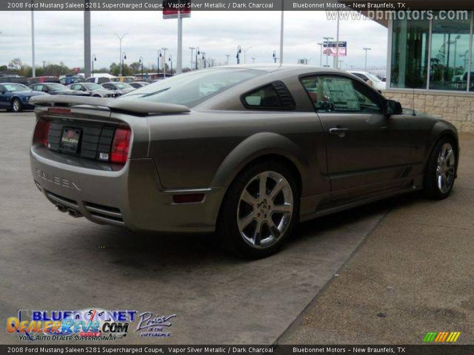 2008 ford mustang saleen s281 supercharged coupe vapor silver metallic dark charcoal photo 14. Black Bedroom Furniture Sets. Home Design Ideas