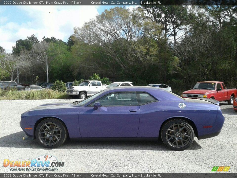 Plum Crazy Pearl 2019 Dodge Challenger GT Photo #2