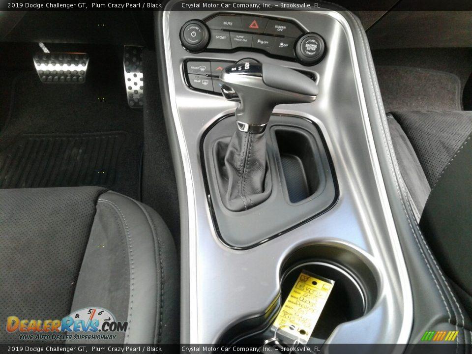 2019 Dodge Challenger GT Plum Crazy Pearl / Black Photo #16
