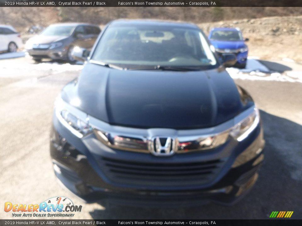 2019 Honda HR-V LX AWD Crystal Black Pearl / Black Photo #7