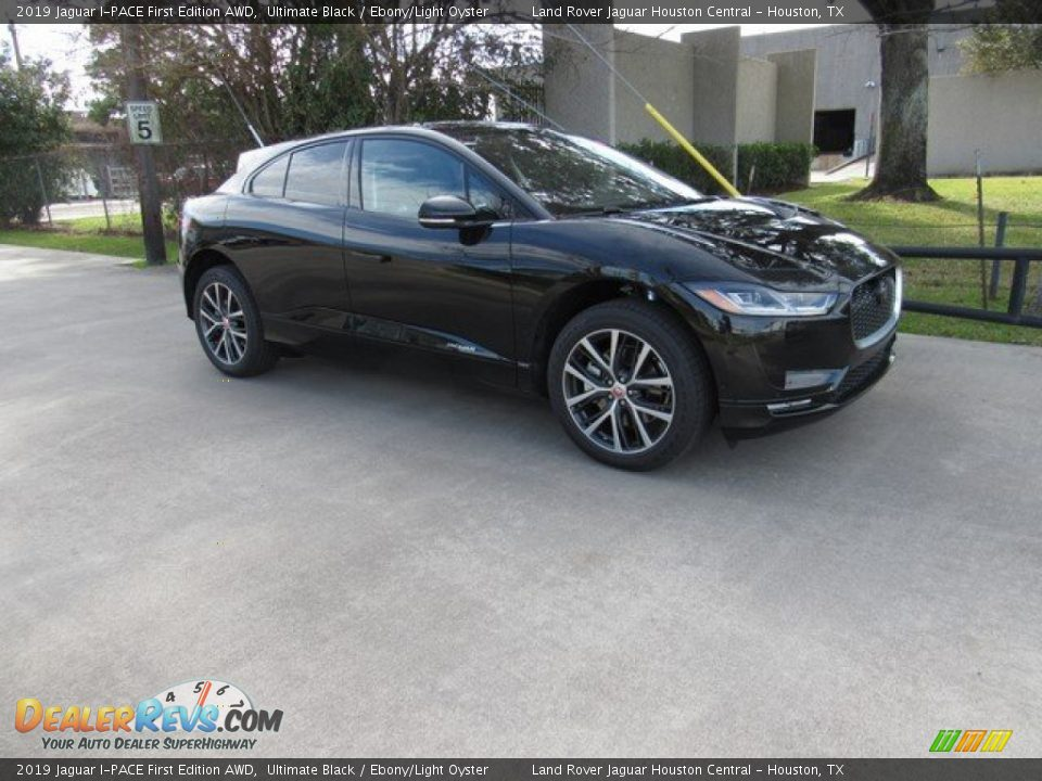 2019 Jaguar I-PACE First Edition AWD Ultimate Black / Ebony/Light Oyster Photo #1