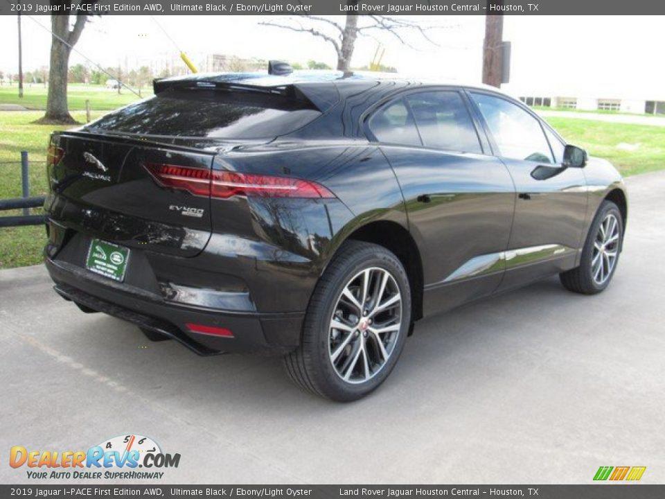 2019 Jaguar I-PACE First Edition AWD Ultimate Black / Ebony/Light Oyster Photo #7
