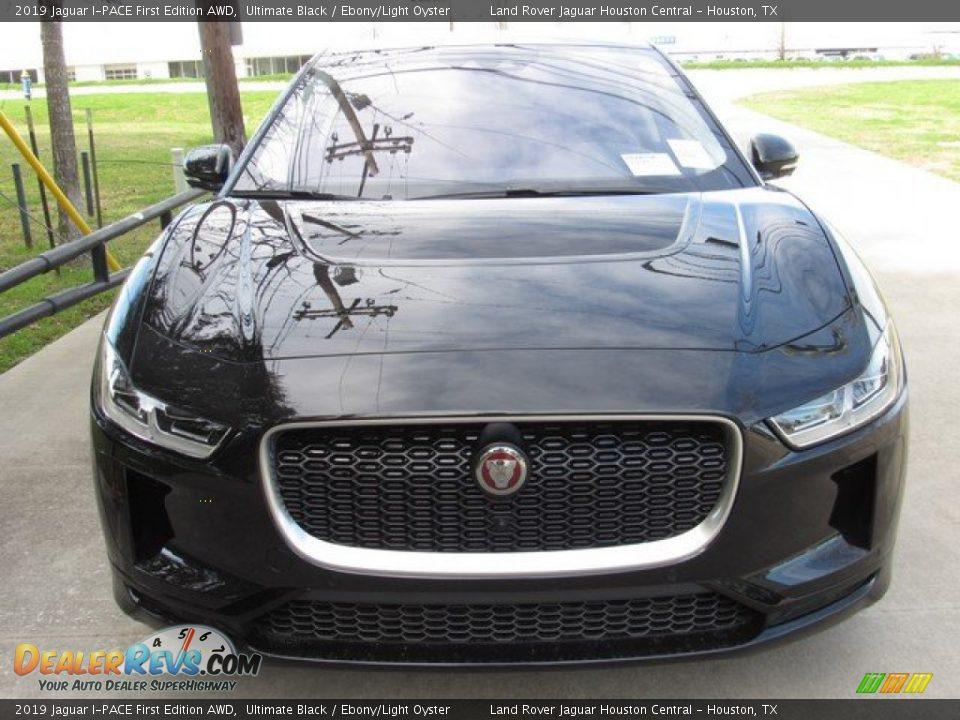 2019 Jaguar I-PACE First Edition AWD Ultimate Black / Ebony/Light Oyster Photo #9