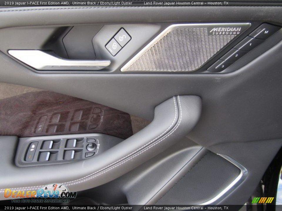 2019 Jaguar I-PACE First Edition AWD Ultimate Black / Ebony/Light Oyster Photo #24