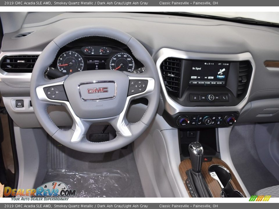 2019 GMC Acadia SLE AWD Smokey Quartz Metallic / Dark Ash Gray/Light Ash Gray Photo #9