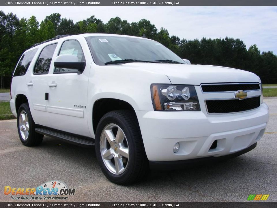 2009 chevrolet tahoe lt summit white light titanium. Black Bedroom Furniture Sets. Home Design Ideas
