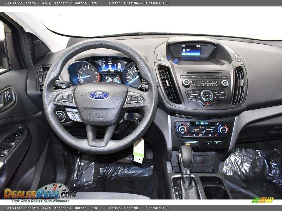 2018 Ford Escape SE 4WD Magnetic / Charcoal Black Photo #13