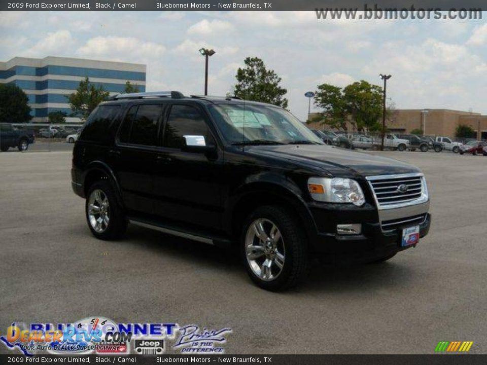 2009 Ford Explorer Limited Black / Camel Photo #5 | DealerRevs.com