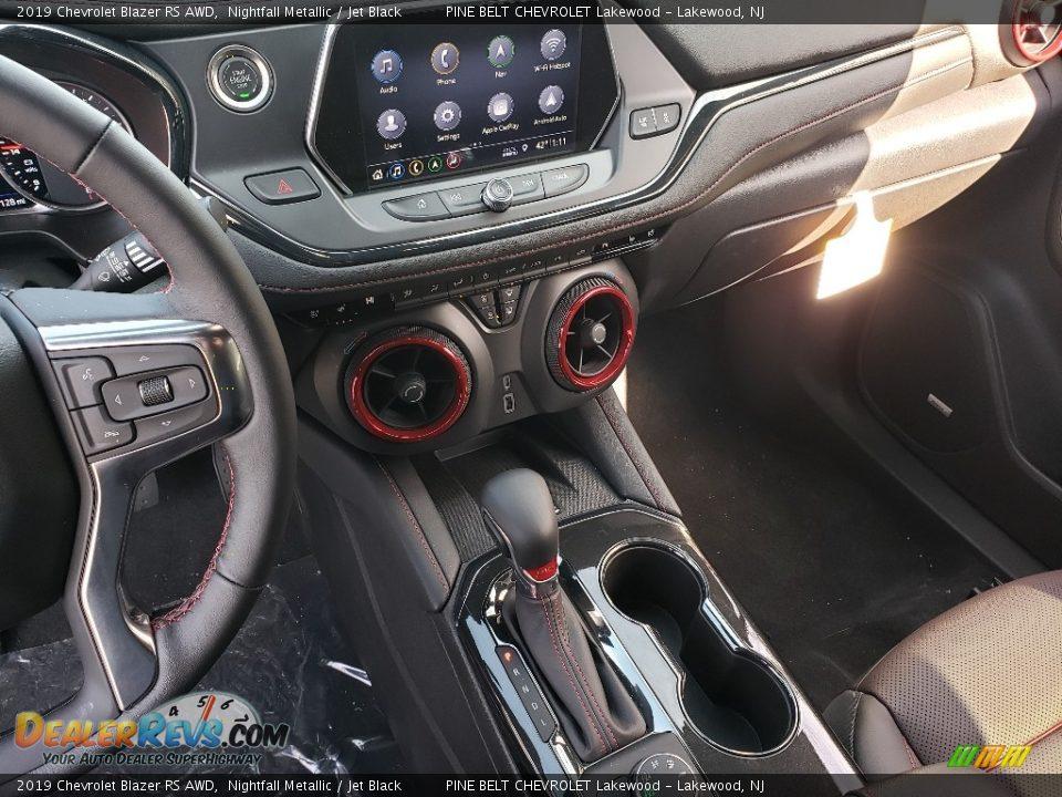 2019 Chevrolet Blazer RS AWD Nightfall Metallic / Jet Black Photo #10