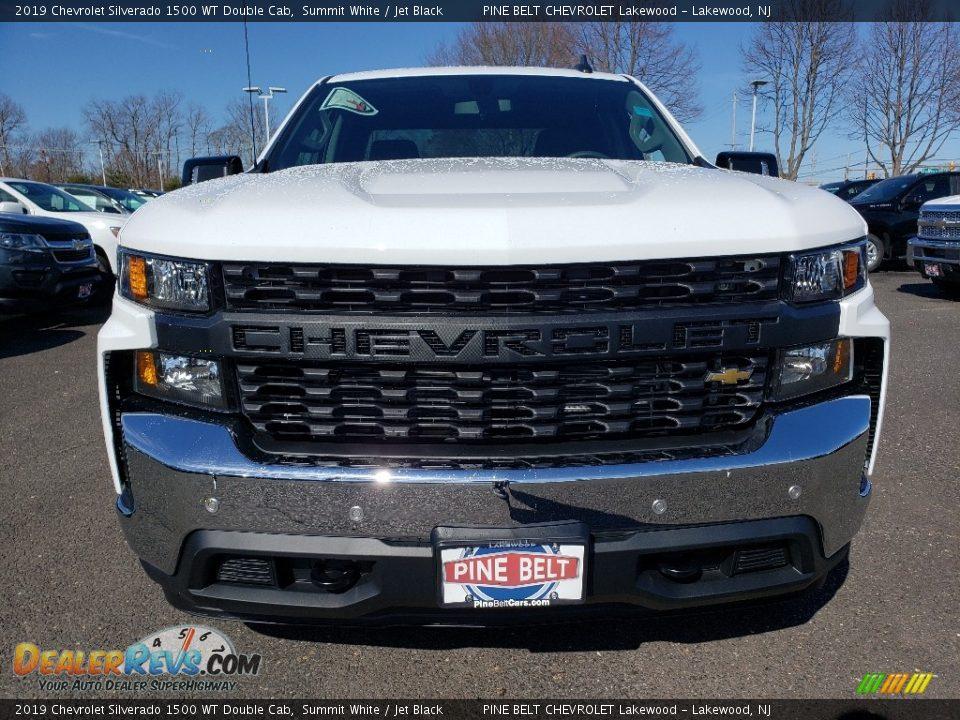 2019 Chevrolet Silverado 1500 WT Double Cab Summit White / Jet Black Photo #2