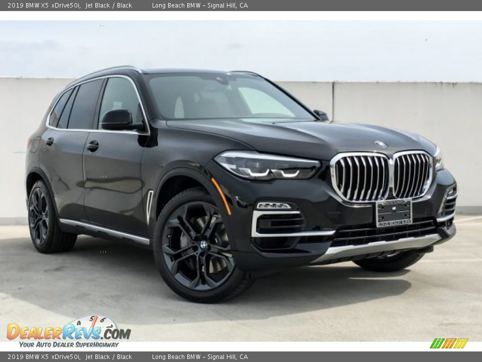 2019 BMW X5 xDrive50i Jet Black / Black Photo #12
