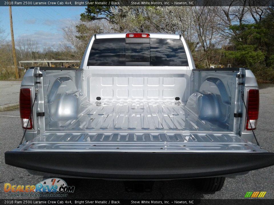 2018 Ram 2500 Laramie Crew Cab 4x4 Bright Silver Metallic / Black Photo #12