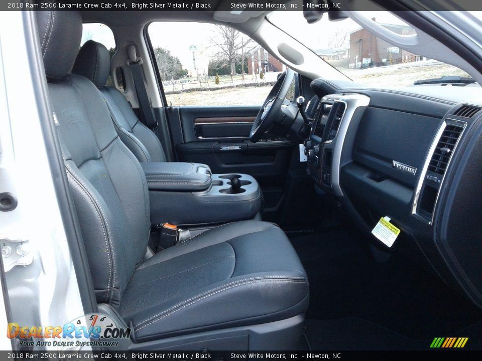 2018 Ram 2500 Laramie Crew Cab 4x4 Bright Silver Metallic / Black Photo #15