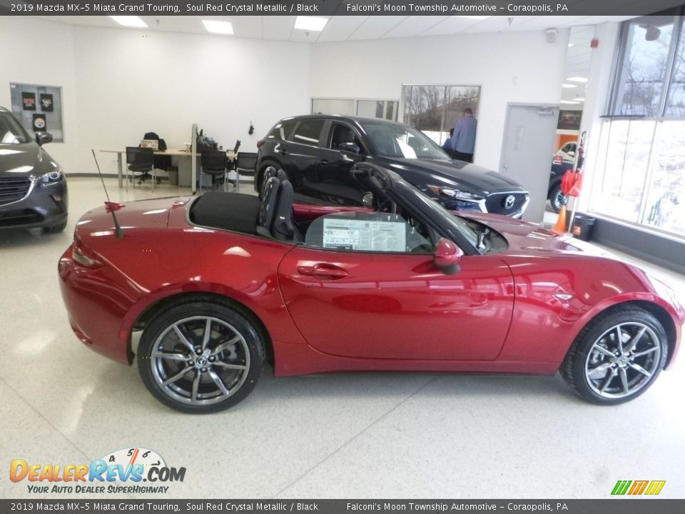 2019 Mazda MX-5 Miata Grand Touring Soul Red Crystal Metallic / Black Photo #1