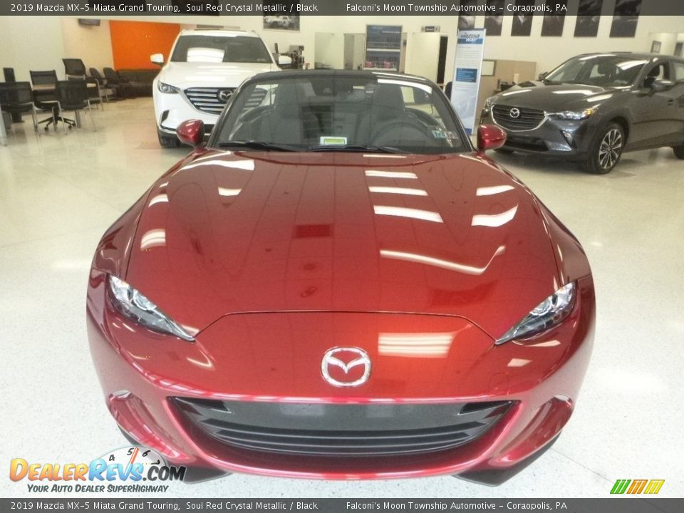 2019 Mazda MX-5 Miata Grand Touring Soul Red Crystal Metallic / Black Photo #4