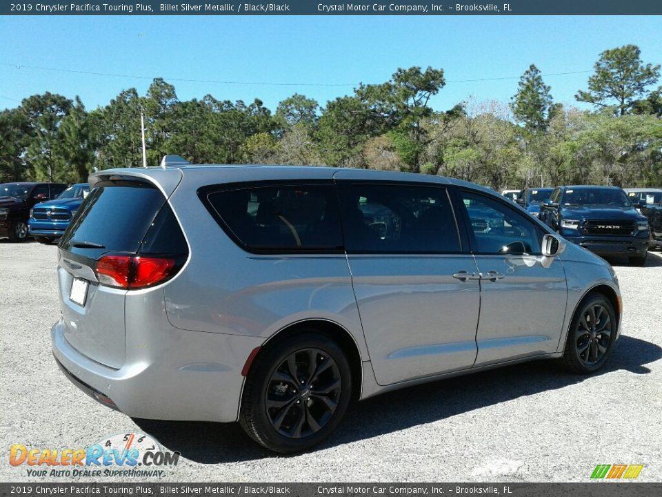 2019 Chrysler Pacifica Touring Plus Billet Silver Metallic / Black/Black Photo #5