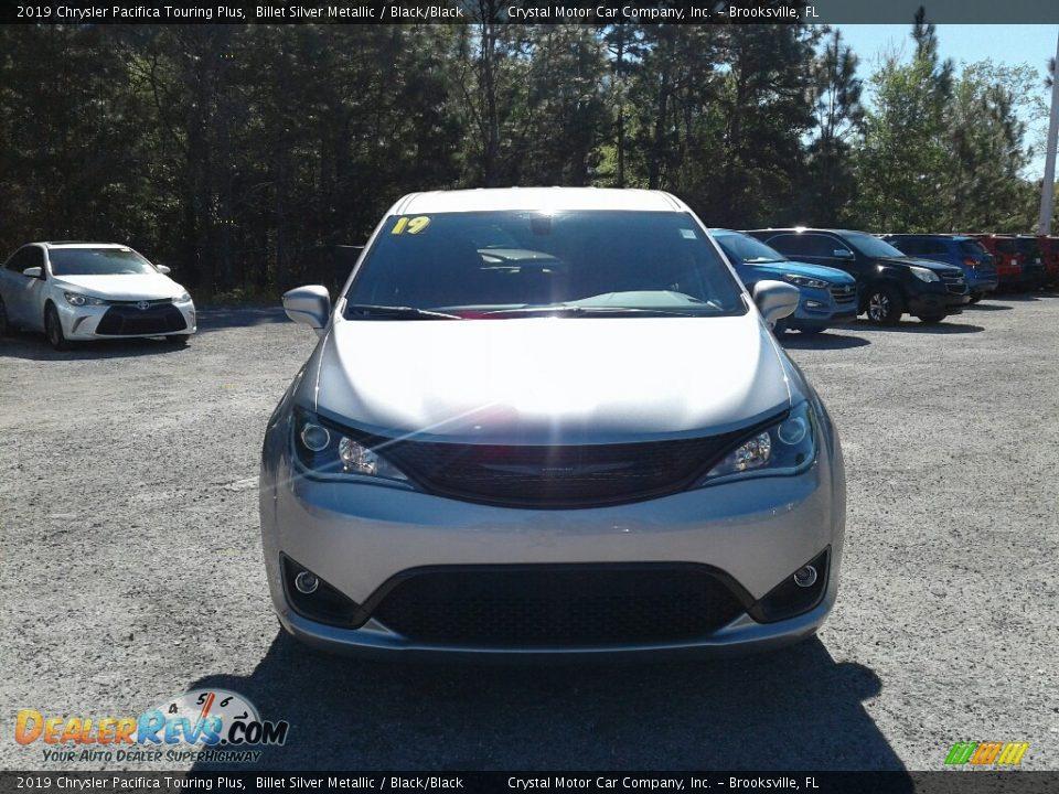 2019 Chrysler Pacifica Touring Plus Billet Silver Metallic / Black/Black Photo #8