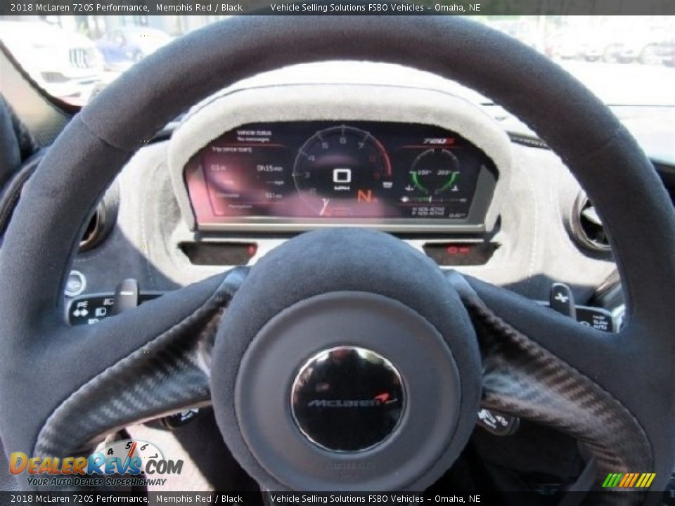 2018 McLaren 720S Performance Steering Wheel Photo #2