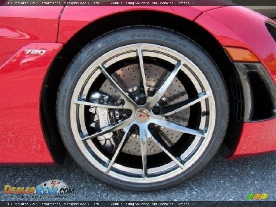 2018 McLaren 720S Performance Wheel Photo #8