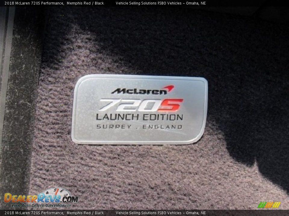 Info Tag of 2018 McLaren 720S Performance Photo #9
