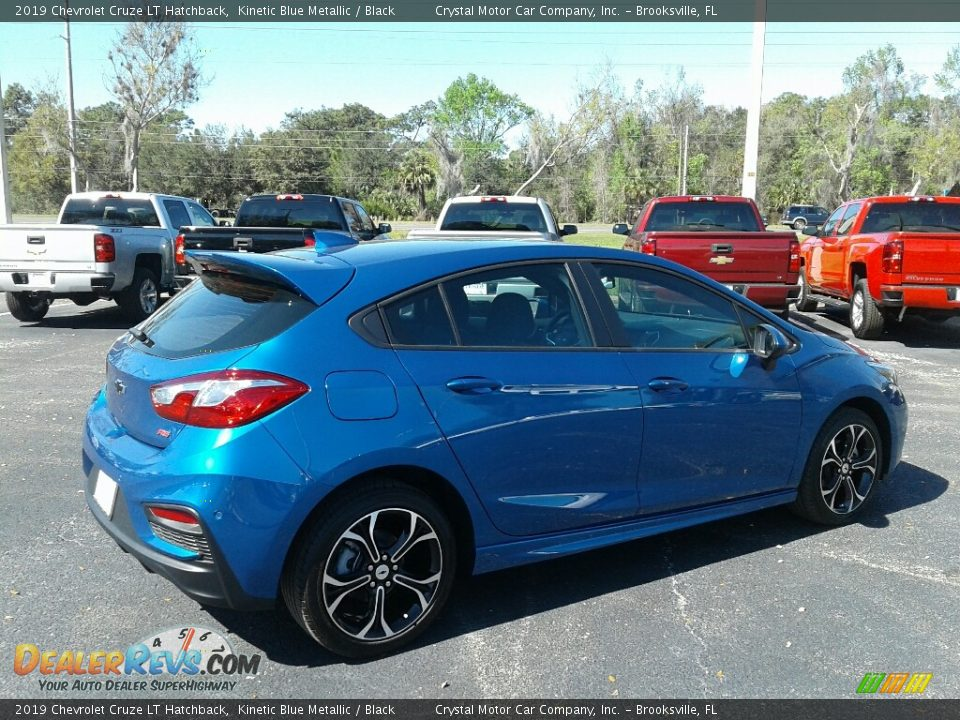 2019 Chevrolet Cruze LT Hatchback Kinetic Blue Metallic / Black Photo #5