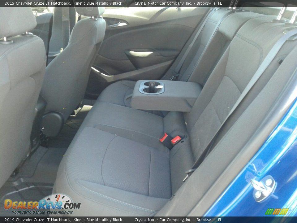 2019 Chevrolet Cruze LT Hatchback Kinetic Blue Metallic / Black Photo #10