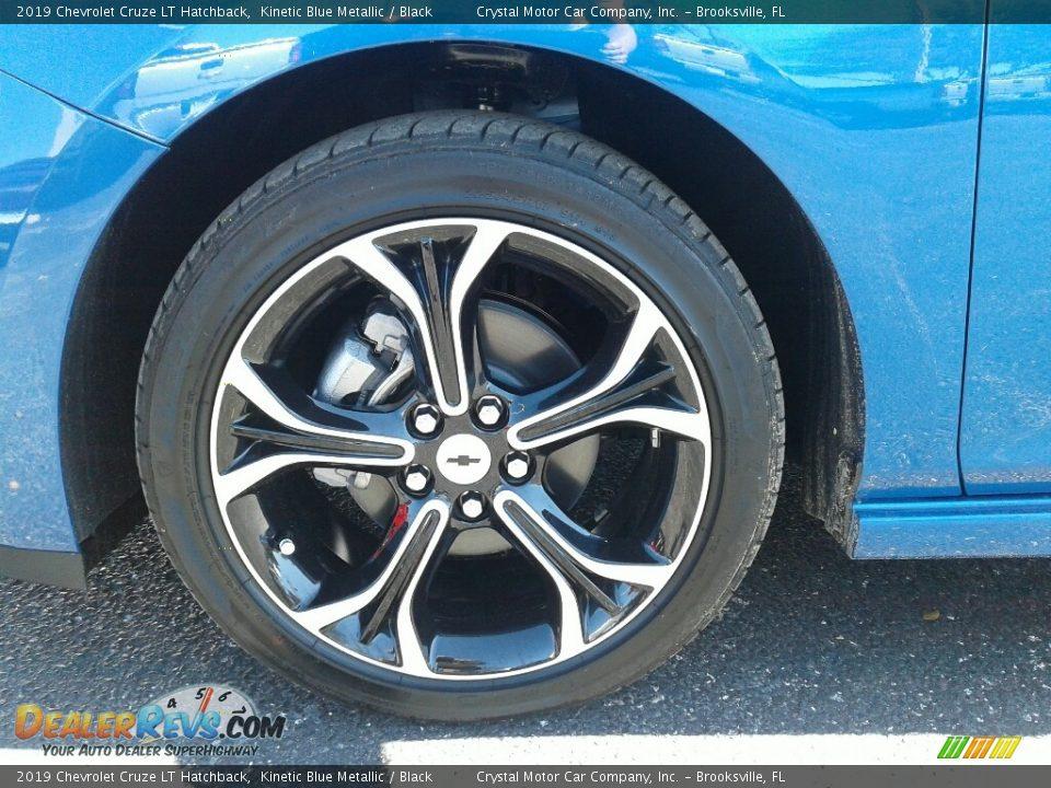 2019 Chevrolet Cruze LT Hatchback Kinetic Blue Metallic / Black Photo #20