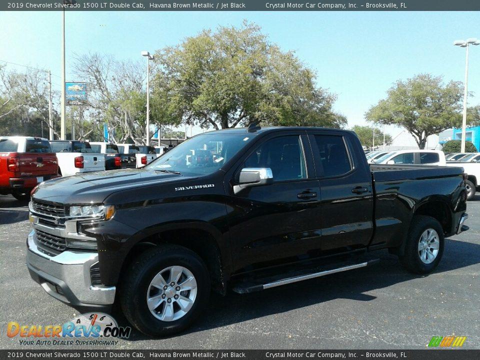 2019 Chevrolet Silverado 1500 LT Double Cab Havana Brown Metallic / Jet Black Photo #1