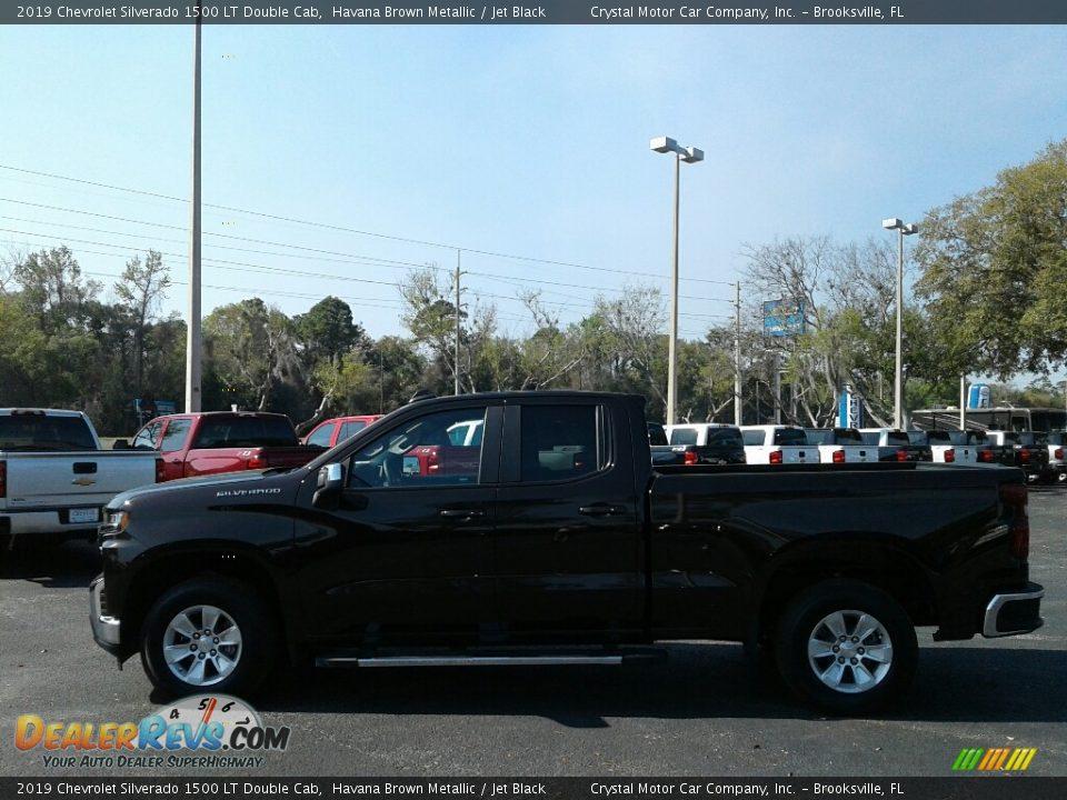 2019 Chevrolet Silverado 1500 LT Double Cab Havana Brown Metallic / Jet Black Photo #2