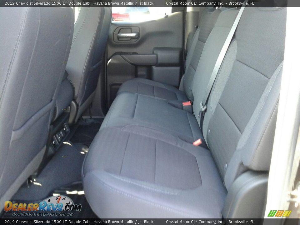 2019 Chevrolet Silverado 1500 LT Double Cab Havana Brown Metallic / Jet Black Photo #10
