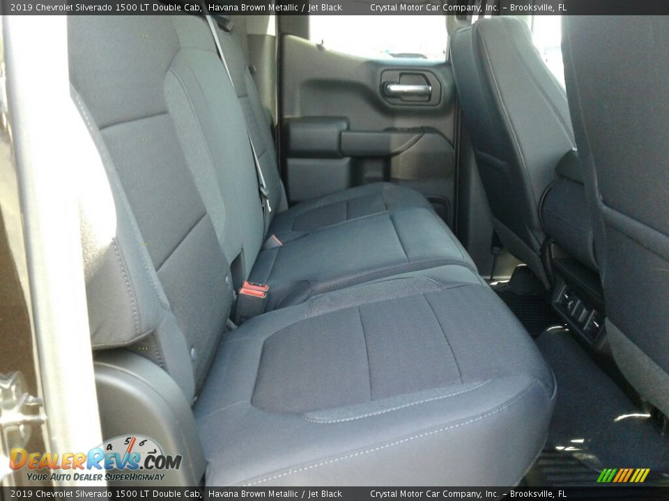 2019 Chevrolet Silverado 1500 LT Double Cab Havana Brown Metallic / Jet Black Photo #11