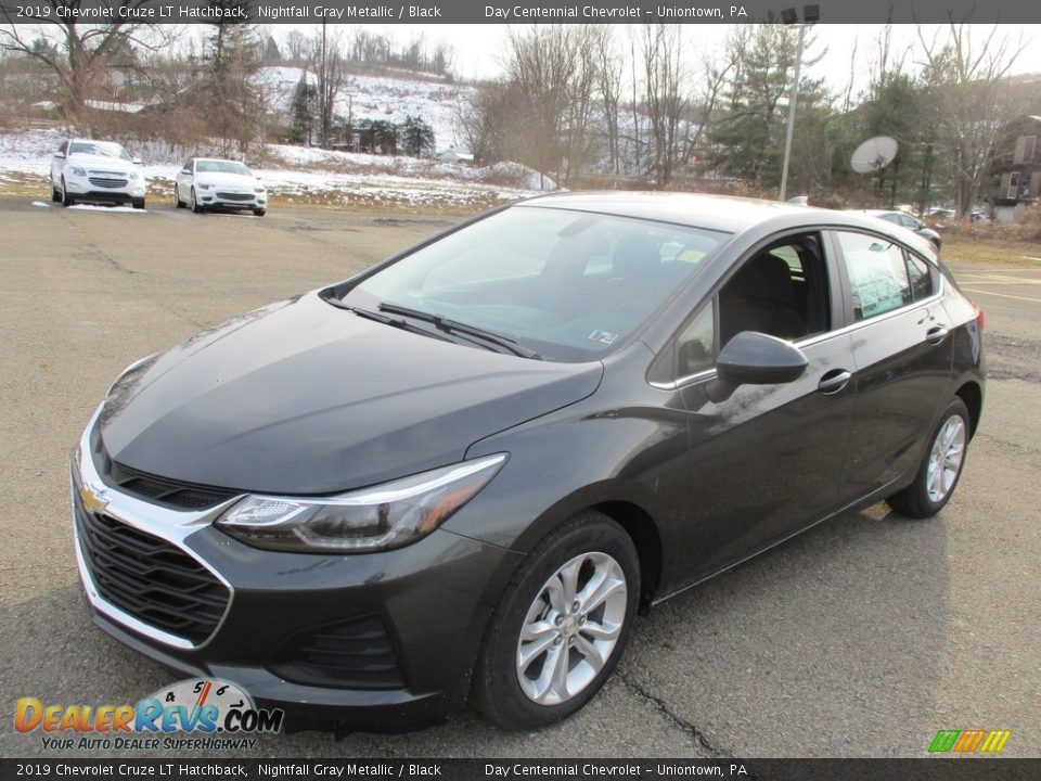 2019 Chevrolet Cruze LT Hatchback Nightfall Gray Metallic / Black Photo #9