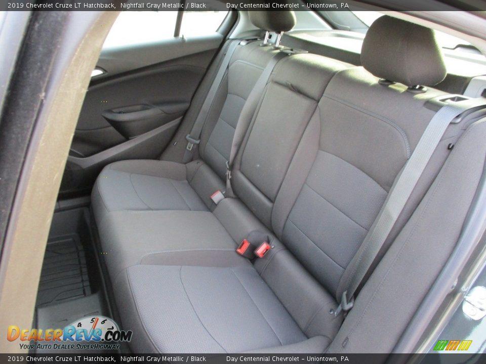 2019 Chevrolet Cruze LT Hatchback Nightfall Gray Metallic / Black Photo #12