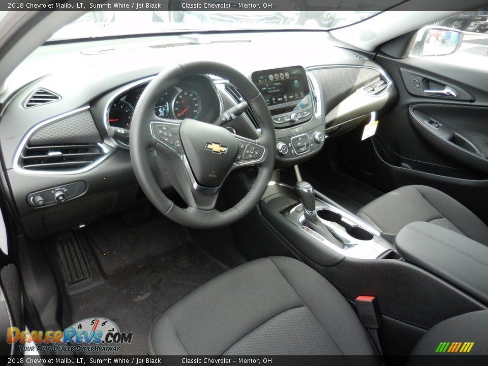2018 Chevrolet Malibu LT Summit White / Jet Black Photo #6