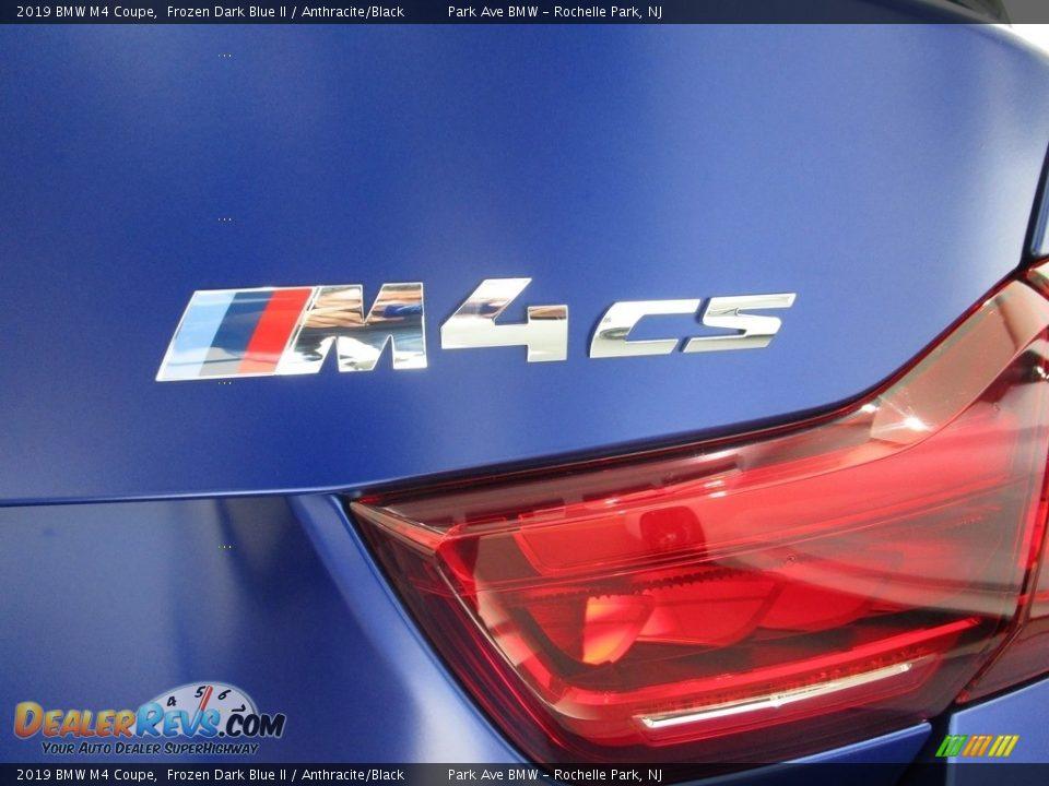 2019 BMW M4 Coupe Frozen Dark Blue II / Anthracite/Black Photo #5