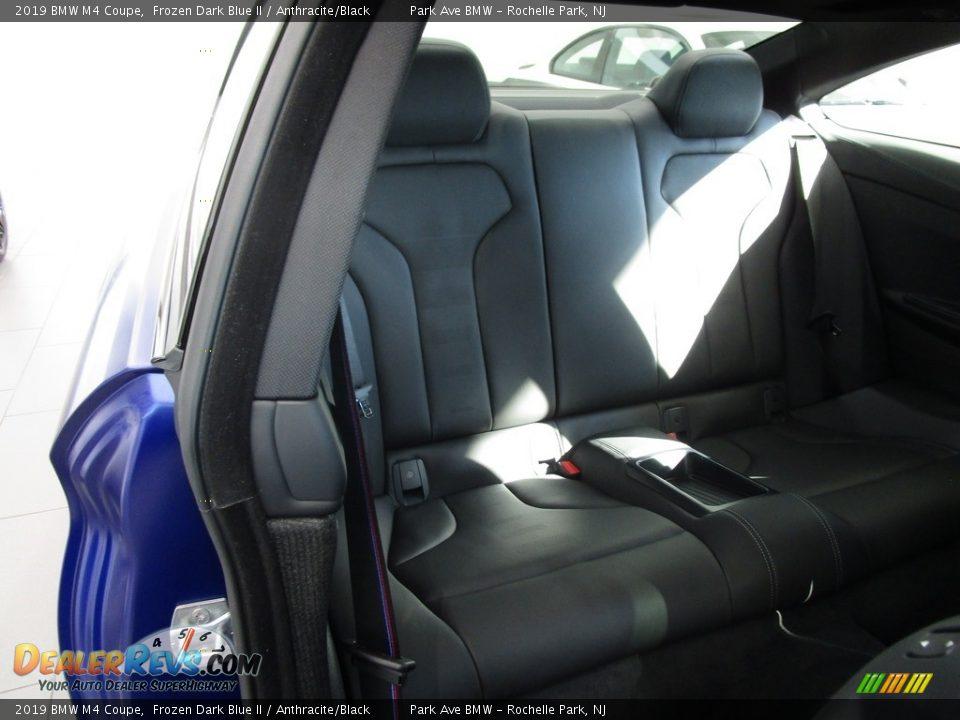 2019 BMW M4 Coupe Frozen Dark Blue II / Anthracite/Black Photo #17