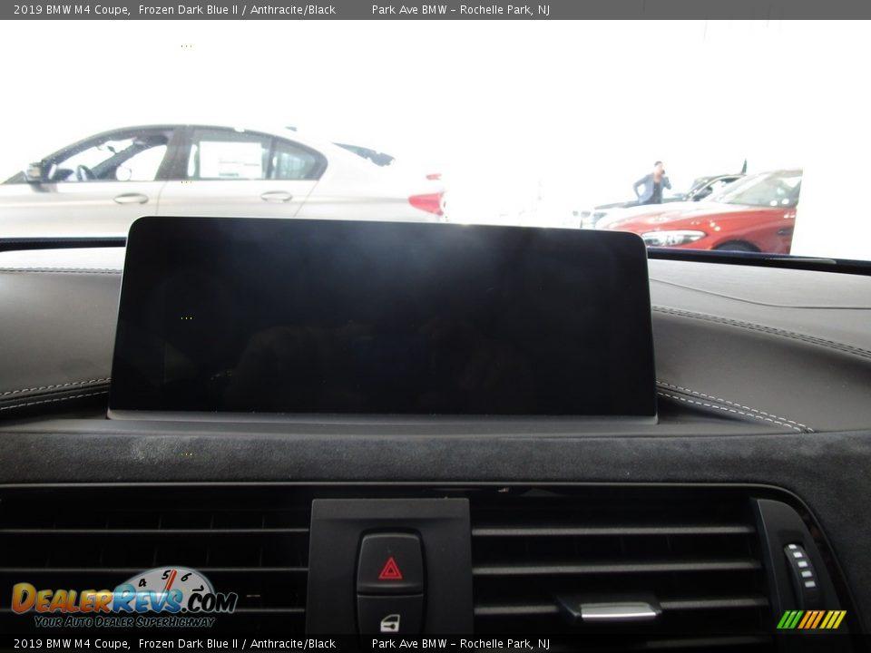 2019 BMW M4 Coupe Frozen Dark Blue II / Anthracite/Black Photo #24