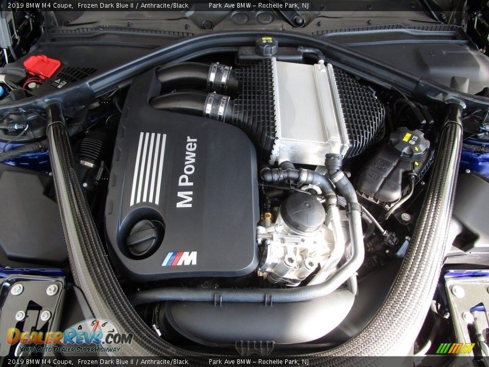 2019 BMW M4 Coupe 3.0 Liter M TwinPower Turbocharged DOHC 24-Valve VVT Inline 6 Cylinder Engine Photo #28