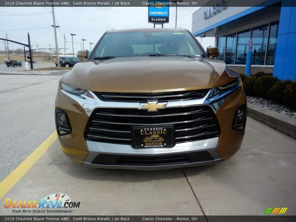 2019 Chevrolet Blazer Premier AWD Sunlit Bronze Metallic / Jet Black Photo #2