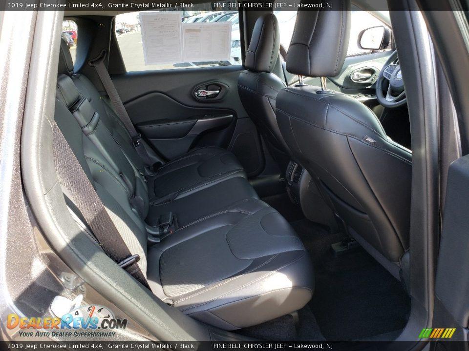 2019 Jeep Cherokee Limited 4x4 Granite Crystal Metallic / Black Photo #13