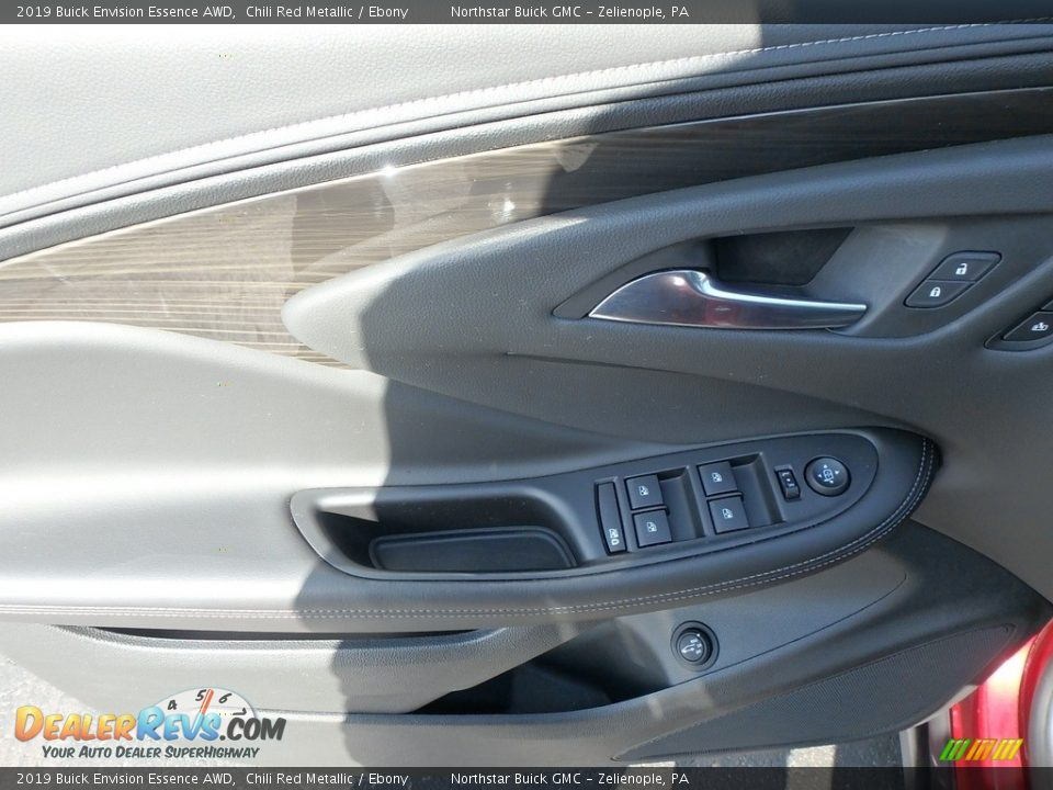 2019 Buick Envision Essence AWD Chili Red Metallic / Ebony Photo #14