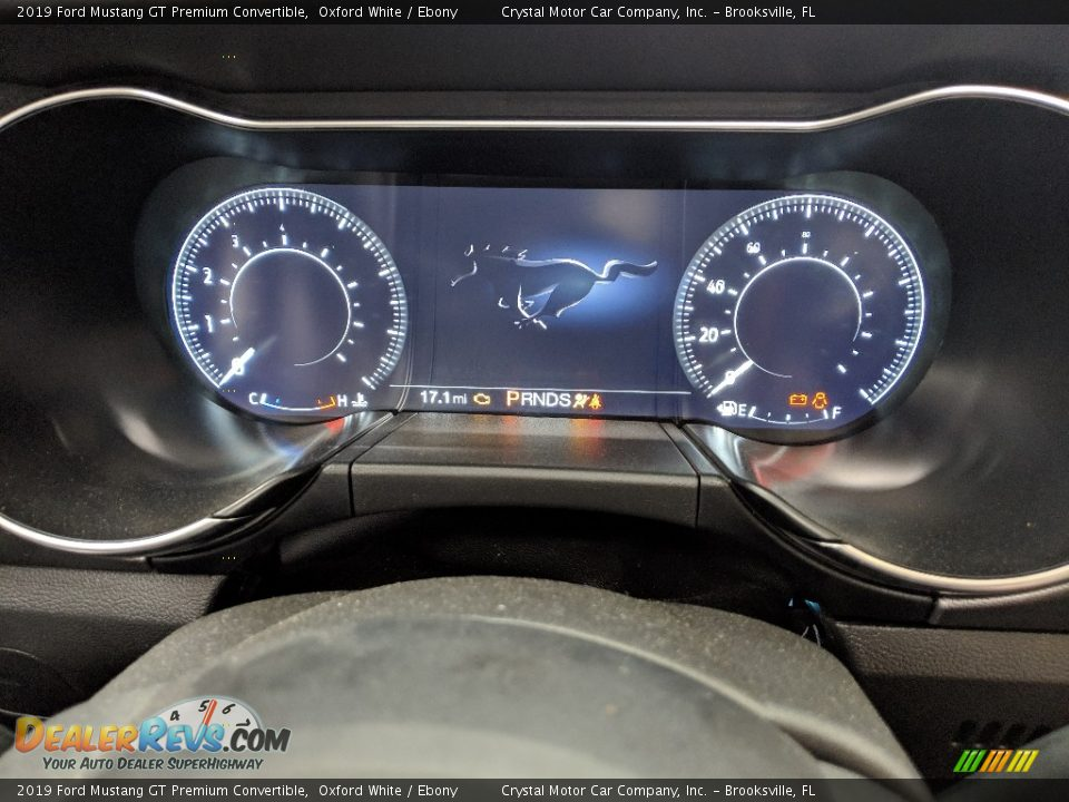 2019 Ford Mustang GT Premium Convertible Gauges Photo #11