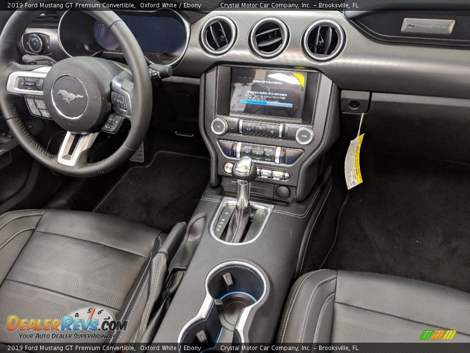 Controls of 2019 Ford Mustang GT Premium Convertible Photo #12