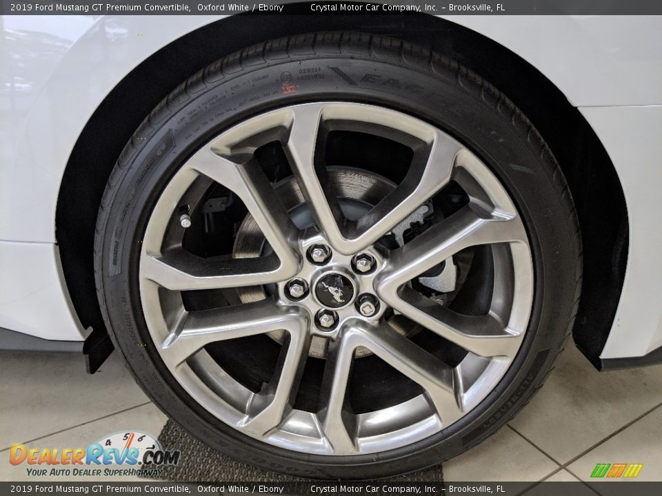 2019 Ford Mustang GT Premium Convertible Wheel Photo #17