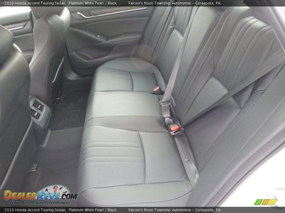 2019 Honda Accord Touring Sedan Platinum White Pearl / Black Photo #9