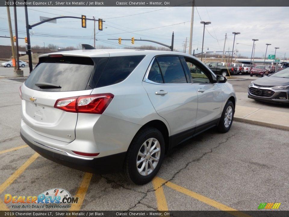 2019 Chevrolet Equinox LT Silver Ice Metallic / Jet Black Photo #4