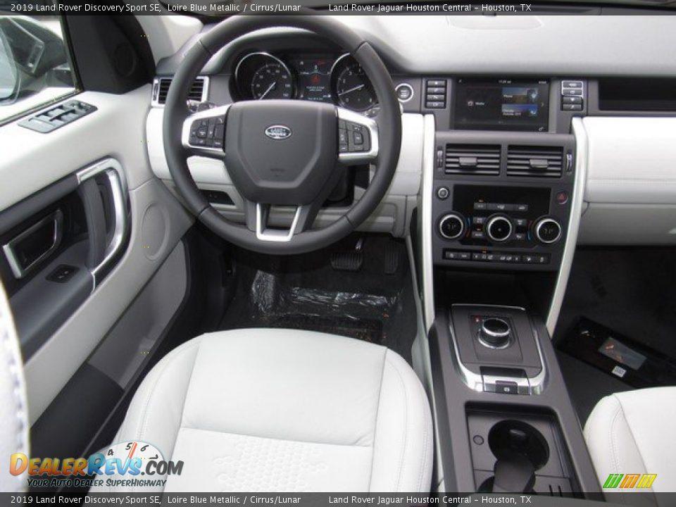 2019 Land Rover Discovery Sport SE Loire Blue Metallic / Cirrus/Lunar Photo #14