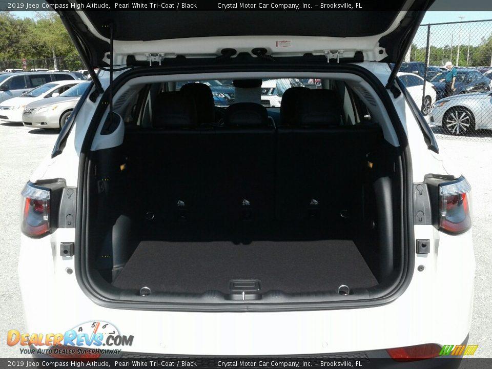 2019 Jeep Compass High Altitude Pearl White Tri–Coat / Black Photo #19