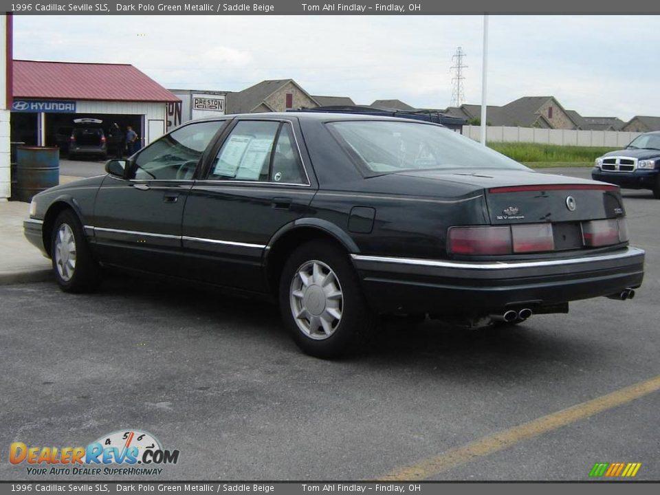 1996 Cadillac Seville Sls Dark Polo Green Metallic